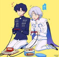 My favorite Sailor Moon villain siblings~