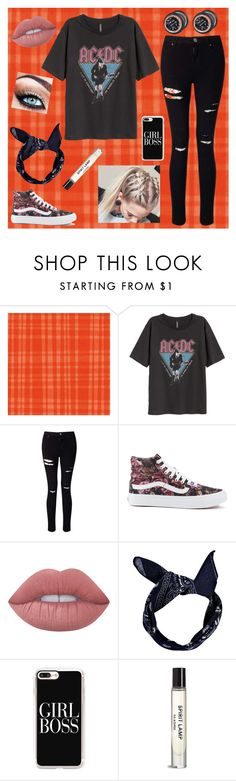 """""""Don't Get Your Hopes Up"""" by peace8sign ❤ liked on Polyvore featuring Miss Selfridge, Vans, Lime Crime, Boohoo and Casetify"""
