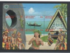Micronesia Stamps ECO Tourism Boat Stamps 2002 UMM PW 3031B | eBay
