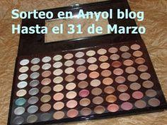 Anyol blog: Sorteo de una Paleta de Sombras de 88 colores