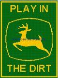 On pinterest tractors john deere tractors and crochet appliques