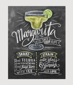 Margarita Recipe - Print