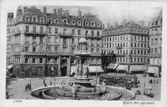 Après paris voici quelques photos rétro de la ville de Lyon…. | WADIMO