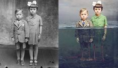 Photographer Colorized Old Photos While Adding Beautifully Surreal Narratives | Fstoppers