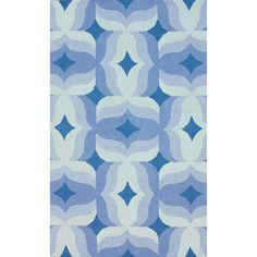 nuLOOM Handmade Modern Abstract Blue Wool Rug (8'6 x 11'6) - Overstock™ Shopping - Great Deals on Nuloom 7x9 - 10x14 Rugs