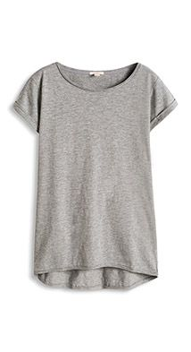 Esprit / Basic T-shirt van zachte jersey