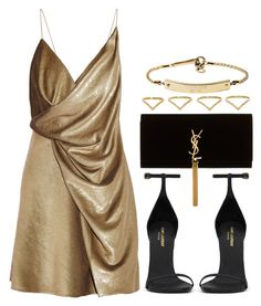 """Style #7725"" by vany-alvarado ❤ liked on Polyvore featuring Yves Saint Laurent, MICHAEL Michael Kors and Ana Khouri"