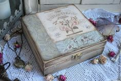 """Купить """"Botanical Society"""" шкатулка - шкатулка, шкатулка декупаж, шкатулка для мелочей, шкатулка ручной работы"""