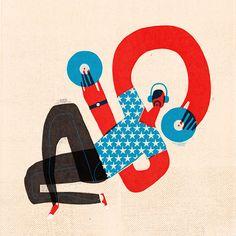 "Illustration ""Nightlife"" by Keith Negley"