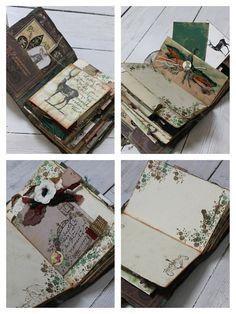 Rustic Woodland Wedding guest book and por LotusBluBookArt en Etsy