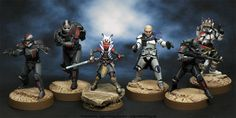 Agis Page of miniature painting and gaming - Clone Wars Star Wars Clone Wars, Star Wars Rebels, Ashoka Star Wars, At Rt, Star Wars Figurines, Imperial Assault, 501st Legion, Galactic Republic, Star Wars Droids