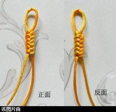 Chinese Knotting of Basic Level-Jingang Knot | chineseknotting