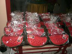 lembrancinhas: Necessaire de melancia cheia de doces