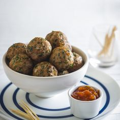 Herbed+Turkey+Balls