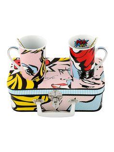 pop art cups