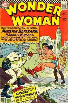 Superman - National Comics - Minister Blizzard - The Authentic Origin Of Wonder Womans Secret Identity - From The Golden Age Hall Of Infamy - Ross Andru Dc Comics, Star Comics, Silver Age Comics, Wonder Woman Comic, Wonder Women, Old Comic Books, Comic Book Covers, Batman, Superman
