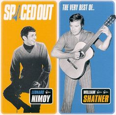Spaced Out: The Best of Leonard Nimoy and William Shatner - Leonard Nimoy | Songs, Reviews, Credits | AllMusic
