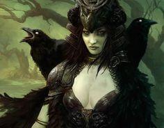 1000+ images about Morgane/Morrigan/Bodb/Macha on Pinterest ...