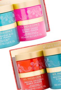 Champneys Spa Indulgence Mediterranean Bliss Bubble Heaven, $24.99, Stocking Stuffers Gift Guide for the 2012 Holiday Season