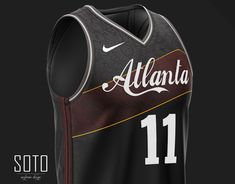 Concept jersey Nike NBA x Brooklyn Nets on Behance Brooklyn Basketball, Basketball Kit, Basketball Leagues, Basketball Uniforms, Sports Brands, Sports Apparel, Nba League, Uniform Design, Atlanta Hawks