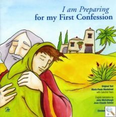 I am Preparing for my First Confession by Marie-Paule Mordefroid, illustrated by Christelle Fargue. Preparation for the Sacrament of Reconciliation is presented in the light of the parable of the Prodigal Son. Contains an examination of conscience and the form of the Sacrament. Also contains a pull-out section for parents and catechist: reconciliation in the history of Salvation, practical advice and commentary on each page of the booklet, a bibliography/reference texts. Order Ref: MB6195…