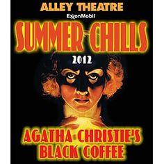 Agatha Christie's Black Coffee at Alley Theatre Houston, TX #Kids #Events