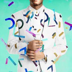 Jeg var med i den indledende fase på DRs nye confetti-brag af et Melodi Grand Prix. Min oprindelige pitch gik på at lave confetti af logotypen som på den måde kunne være identitetsbærende gennem breakere scenografi og værternes påklædning! Projektet ligger påmadshougaard.dknu (klik på linket på min profil) #DRGrandPrix #eurovision #design #identity #show