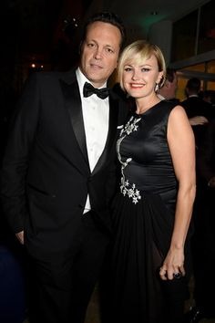 Vince Vaughn and Malin Akerman attend HBO's Golden Globe Awards afterparty at the Beverly Hilton Hotel in Beverly Hills, Calif., on Jan. 11, 2015.
