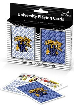 Kentucky Wildcats playing cards two deck pack