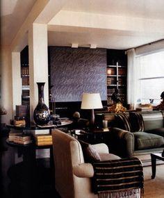 Luxury Interior Design: Perfect Paris Penthouse / Giancarlo Giametti