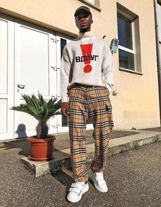 21 Ideas Sweatshirt Outfit Men Menswear For 2019 Street Style Trends, Urban Street Style, Urban Street Wear, Men Street Wear, Street Fashion Men, Street Styles, Black Women Fashion, Trendy Fashion, Fashion Outfits