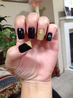 Black and Gold..