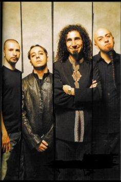 System Of A Down, one of the best music groups ever!