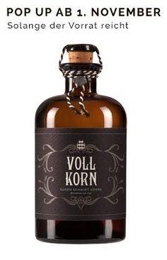Vollkorn Korn Schnaps from Germany