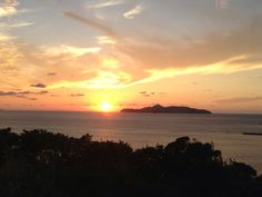 Sunset in Karatsu, Saga, Japan