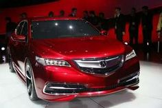 The 2015 Acura TLX is revealed during the 2014 North American International Auto Show. / Kimberly P. Mitchell/Detroit Free Press