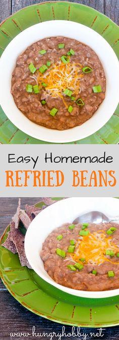 Homemade Vegan Refried Beans
