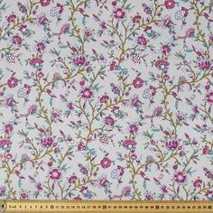 Cotton poplin at Spotlight is fabric of a lovely quality and is perfect for dressmaking and craft projects. Explore our range of fabrics at Spotlight. Dressmaking Fabric, Fabric Online, Poplin Fabric, Vines, Country, Spotlight, Garden, Cotton, Shopping
