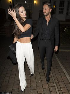 Mario Falcone left fans thinking he had split up with girlfriend Emma McVey after Wednesday night's episode of TOWIE. Mario Falcone, Jess Wright, Chloe Lewis, Lauren Pope, Lucy Watson, Chloe Sims, Louise Thompson, Kiss Day, Geordie Shore