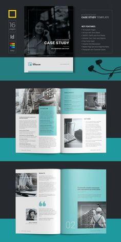 Corporate Brochure Templates for Adobe InDesign - Visual Arts & Identity Brochure Design Inspiration, Graphic Design Layouts, Book Design Layout, Logo Inspiration, Magazine Design Inspiration, Design Posters, Corporate Brochure Design, Brochure Layout, Creative Brochure