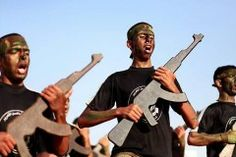 Children learn terror techniques at Hamas summer camp and in schools.