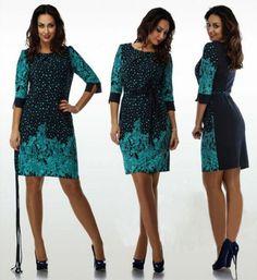Hot Sale Plus Size L XL-6XL  Women Dresses Half Sleeve  Female Dresses Free Shipping Lady Dresses Womens Dresses #Affiliate
