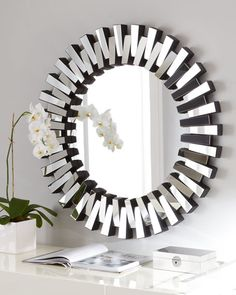 statement mirror for the home