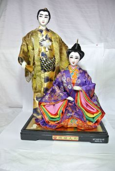 US $49.77 Used in Collectibles, Cultures & Ethnicities, VINTAGE JAPANESE GEISHA AND MAN DOLL SILK KIMONO GIFT SHOP DISPLAY NR COUPLE Seller information shashachicboutique (59 ) 100% Positive feedback See other items Item condition:Used Time left: Time left: 6d 23h Monday, 9:34PM Starting bid:US $49.77 [ 0 bids ]