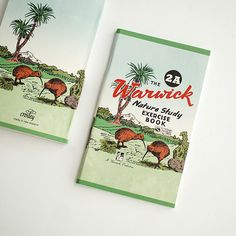 Vintage New Zealand Exercise Book