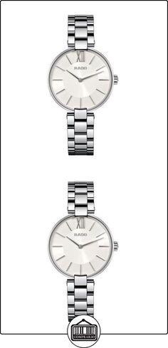 Rado R22850013 reloj Coupole para mujer - plateado mecanismo de cuarzo con caja de acero inoxidable  ✿ Relojes para mujer - (Lujo) ✿