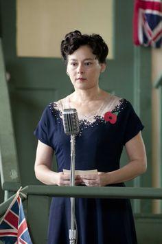 Lorna Corbett - Meg Tilly in Bomb Girls, set in the 1940s (TV series 2012-2013).