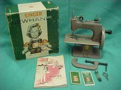 Vintage Child's Singer Sewing machine