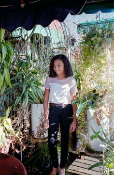 Amandla Stenberg- Rue from Hunger Games:Catching Fire and Macey Irving on Sleepy Hollow.