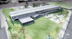 Primer premio concurso Edificio para la Universidad de Chubut / Carón-Di Napoli-Francesconi-Müller-Mur